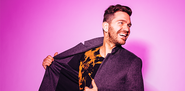 Andy Grammer smiling