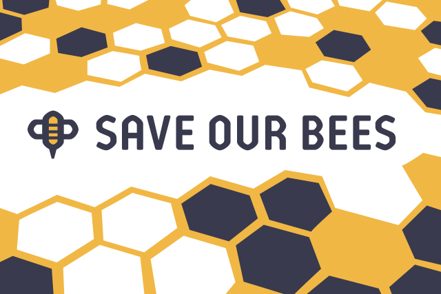 Save our bees poster