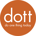 Do one thing today graphic