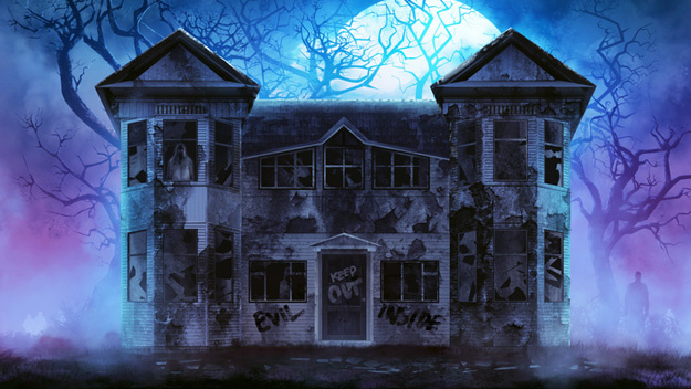 Haunted House Graphic