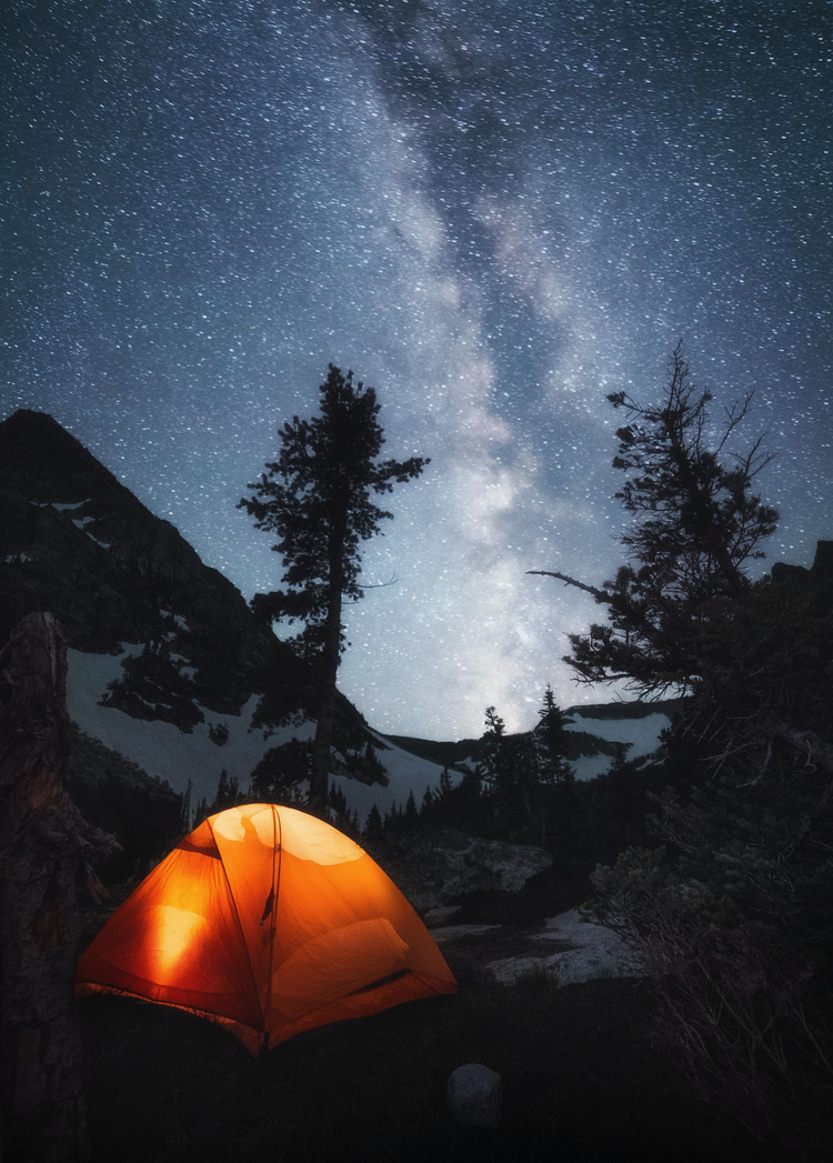 Tent in the wilderness