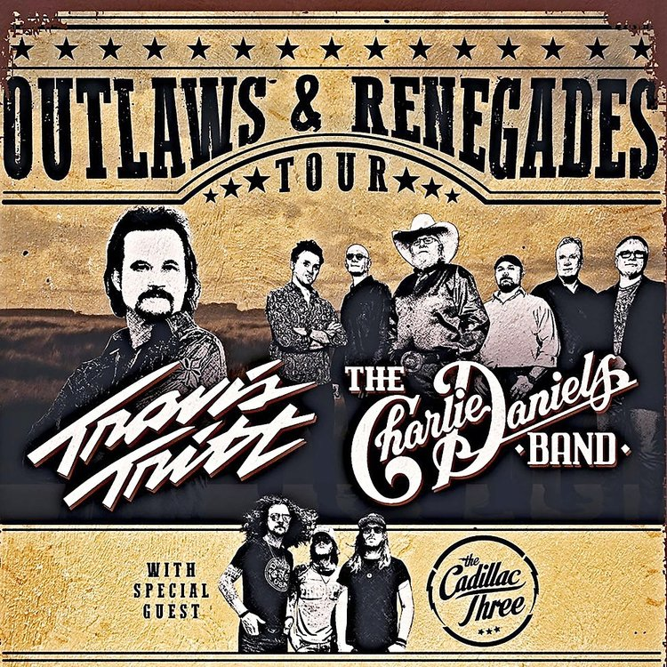 Outlaws and Renegades Tour Poster