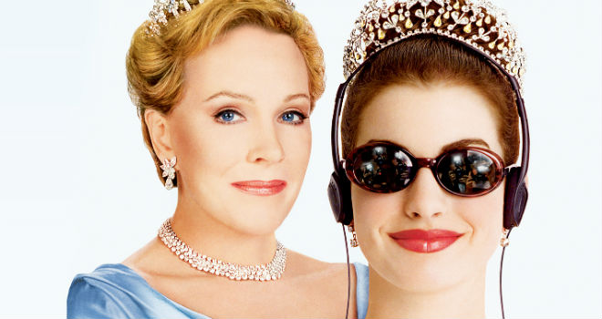 Princess Diaries Movie Graphic
