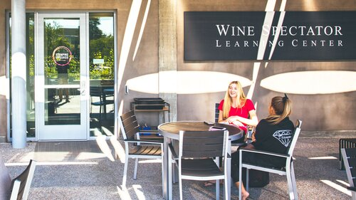 Students at the Wine Learning Center