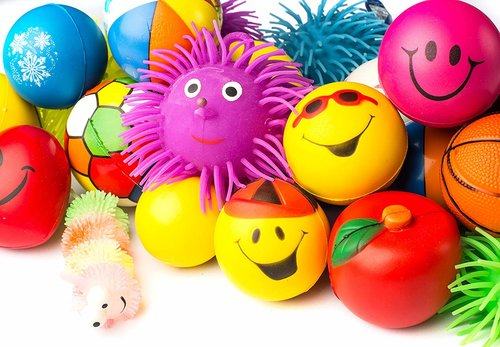 Colorful Stress Balls