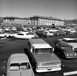 Parking Lot late 60s