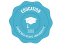 School of Education 2018 Commencement badge