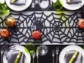 Halloween dinner table