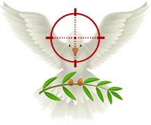 War and Peace Bird Logo