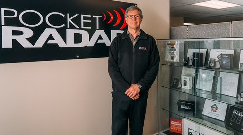 Chris Stewart from Pocket Radar
