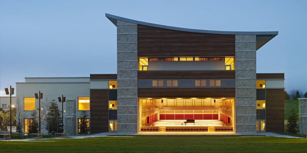 Green Music Center Building