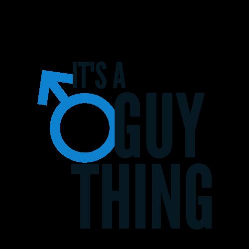 Illustration of blue male symbol