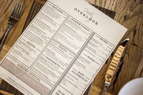 Overlook menu