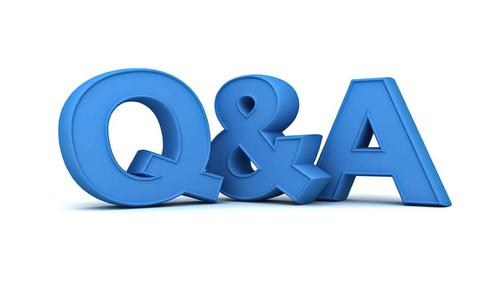 Q&A graphic