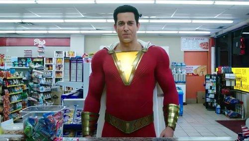 Zachary Levi as Shazam the superhero
