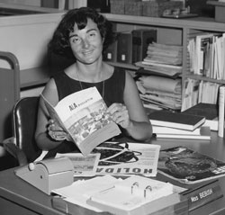 SSU's first librarian