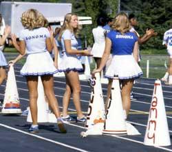 Cheerleaders, 1980s