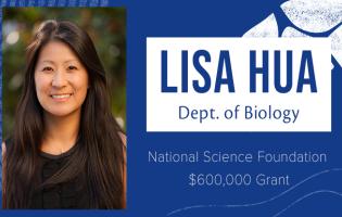 Sonoma State biology professor Lisa Hue