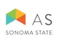 Associated Students (AS) Sonoma State logo