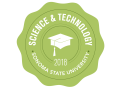 School of Science and Technology 2018 Commencement badge