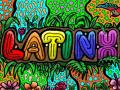 Latinx colorful graphic